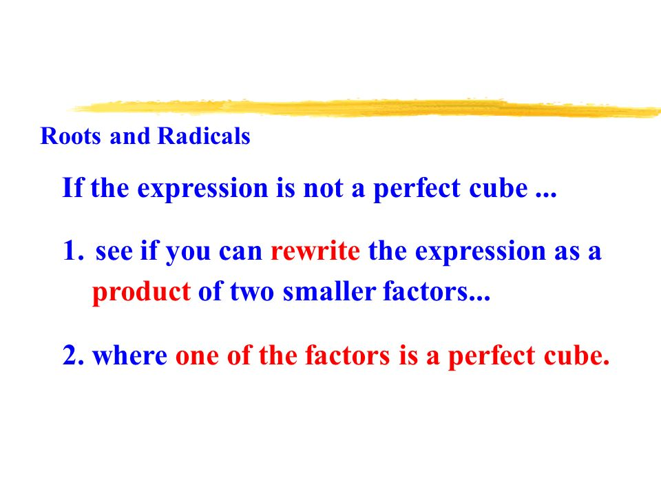 Algebra 2 Unit 8 Roots And Radicals Radicals Also Called Roots