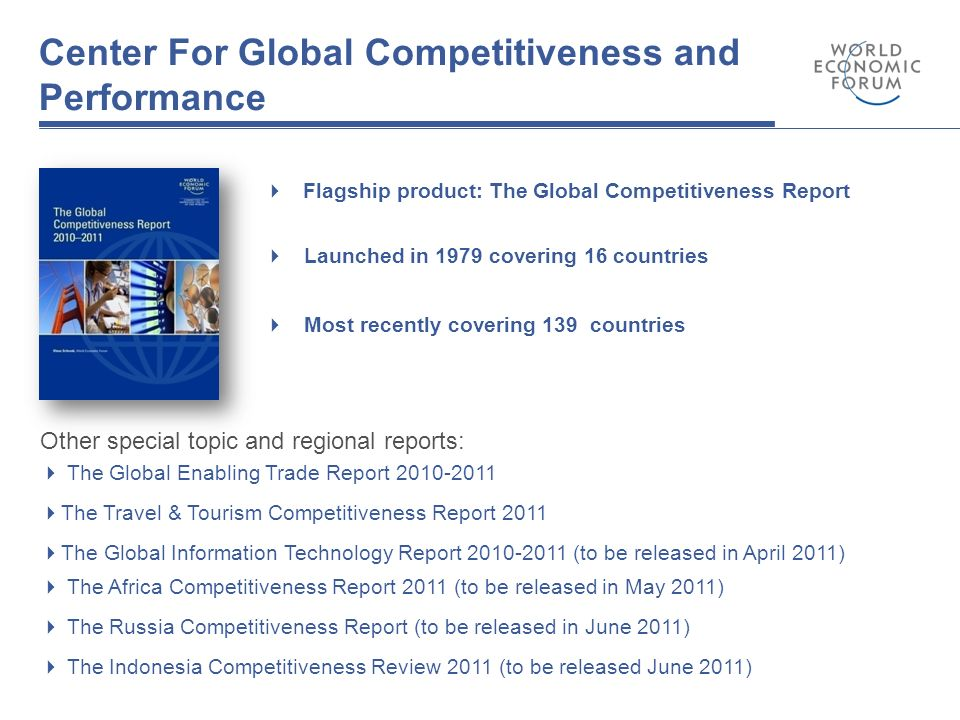 global competitiveness report 2010