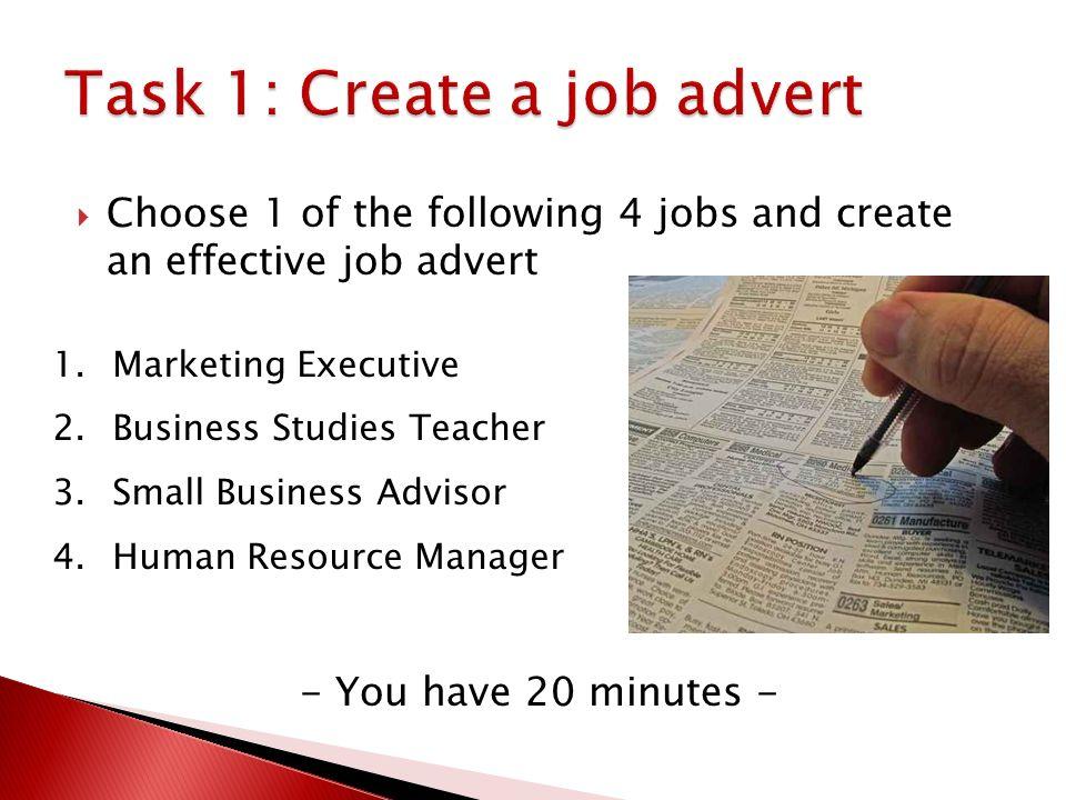 effective and ineffective job advertisement 10 identify the effective and ineffective job advertisements effective job advertisements figure 1 figure 2 figure 1 and 2 which i had selected as the effective job advertisement.