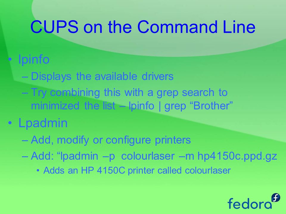 Linux Printing Chapter 14  Linux Printing Configuring a local