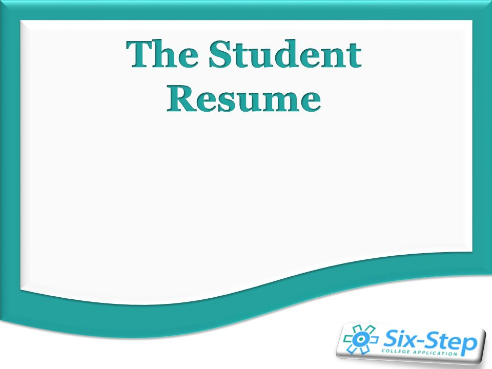 student resume overview brain dump getting organized what do