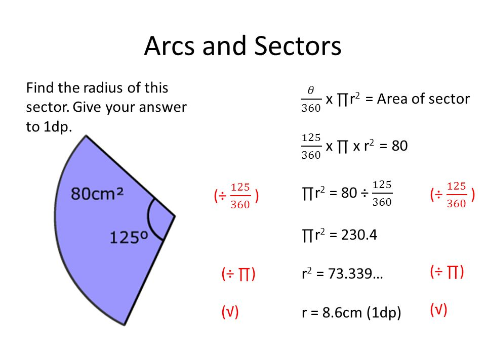Starter The Perimeter Of This Sector Is 2r 12 M Find The