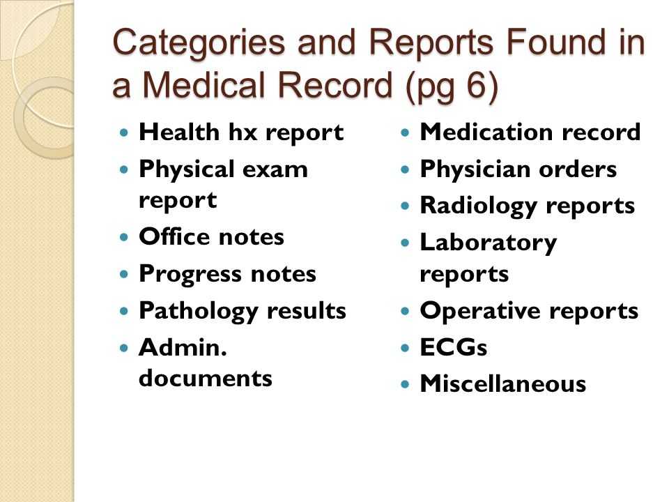 define charting diagnosis discharge summary report electronic