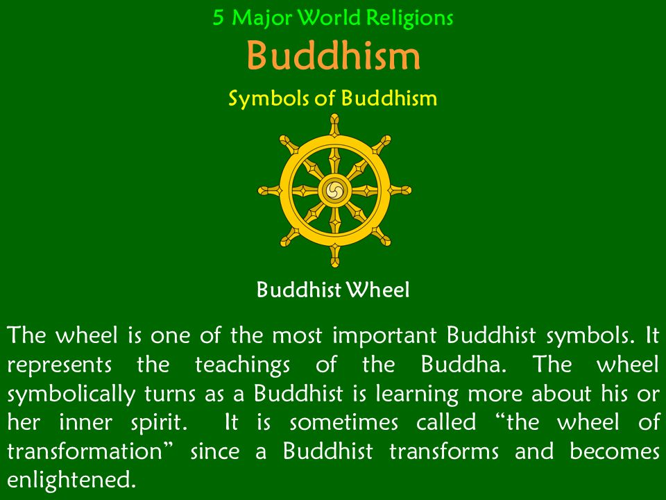 5 Major World Religions Eastern Religions Hinduism Buddhism Ppt