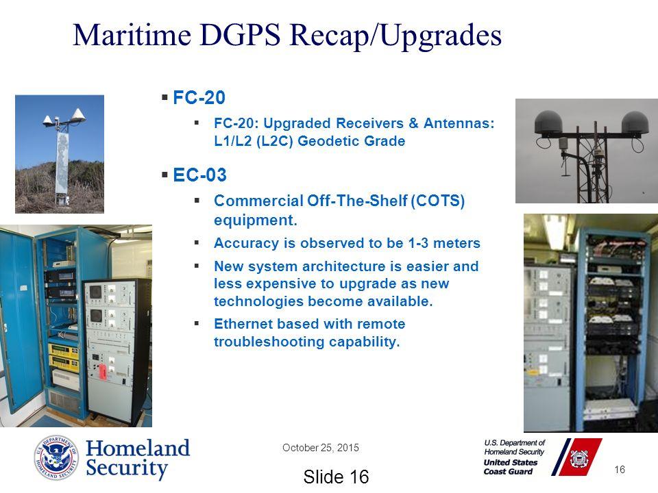USCG Navigation Center & Nationwide DGPS Project Status  - ppt download