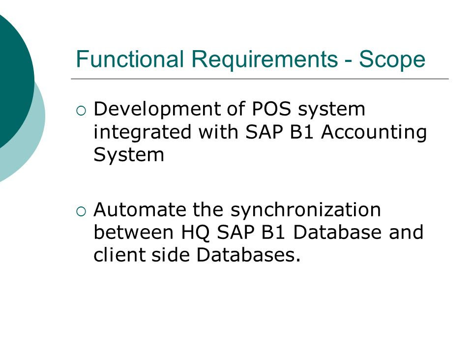 pos system functional requirements
