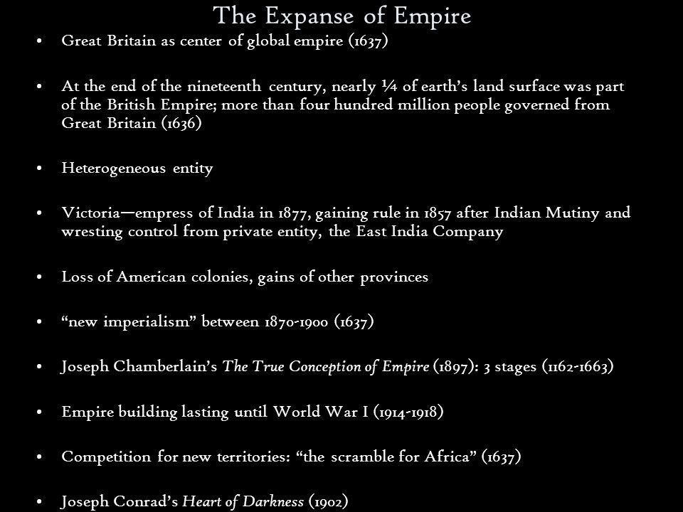 joseph chamberlain the true conception of empire