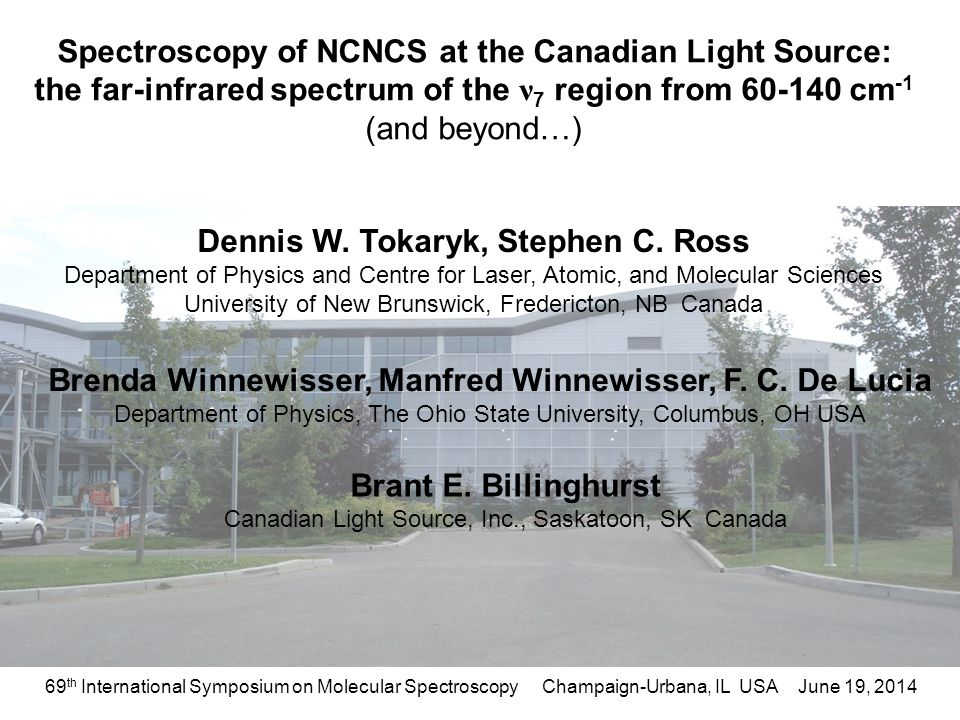 Spectroscopy Of NCNCS At The Canadian Light Source: The Far Infrared  Spectrum Of The