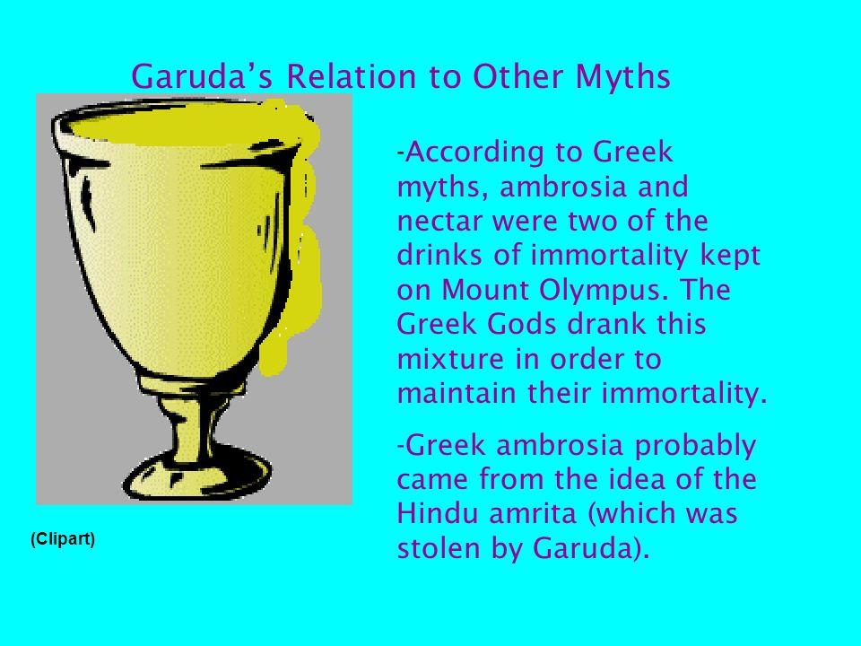 What did Garuda look like? Human torso Demonic face Birdlike wings