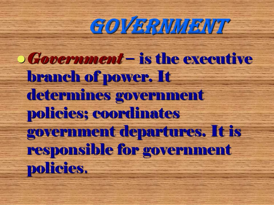 Supreme Council Supreme Council - is the legislative branch of power.