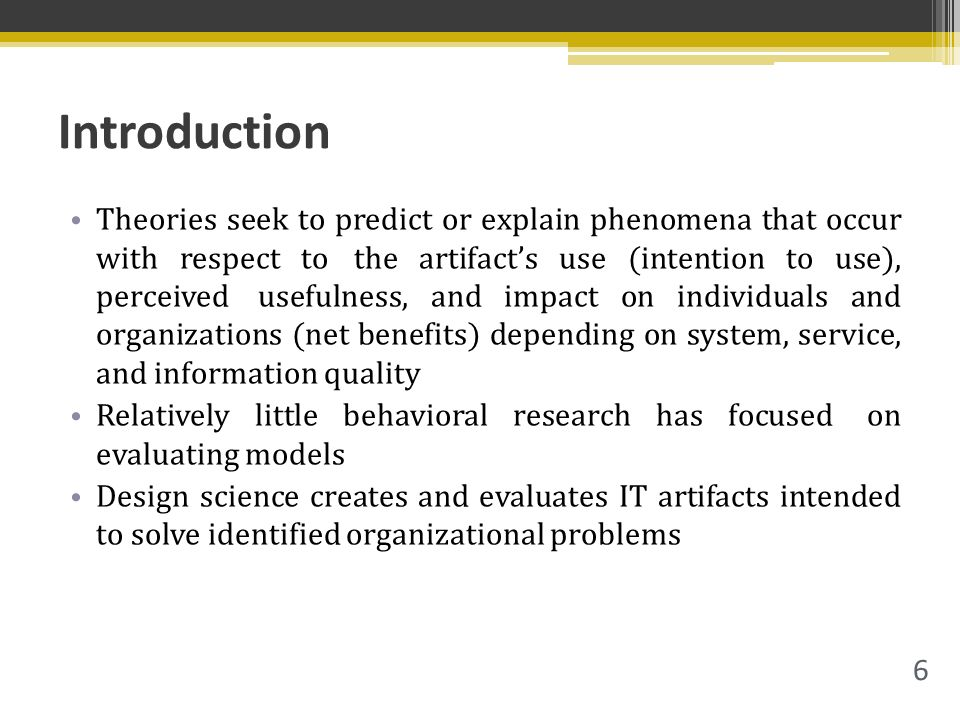 Design Science Research Design Science In Information Systems Research Hevner Et Al 2004 2015 08 17 Positioning And Presenting Design Science Research Ppt Download