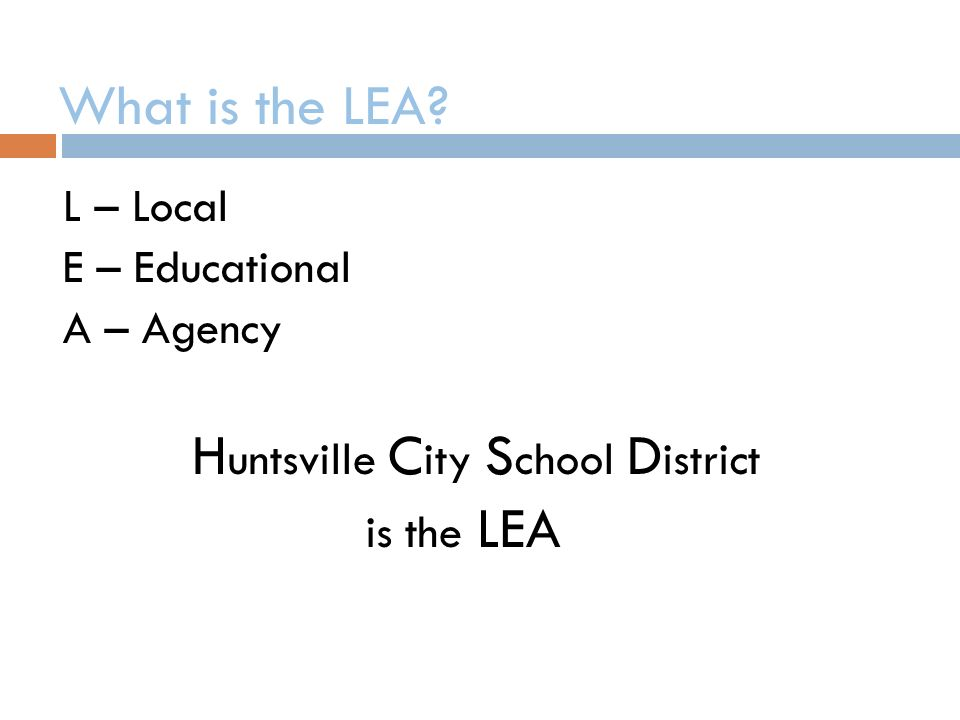 What is the LEA.