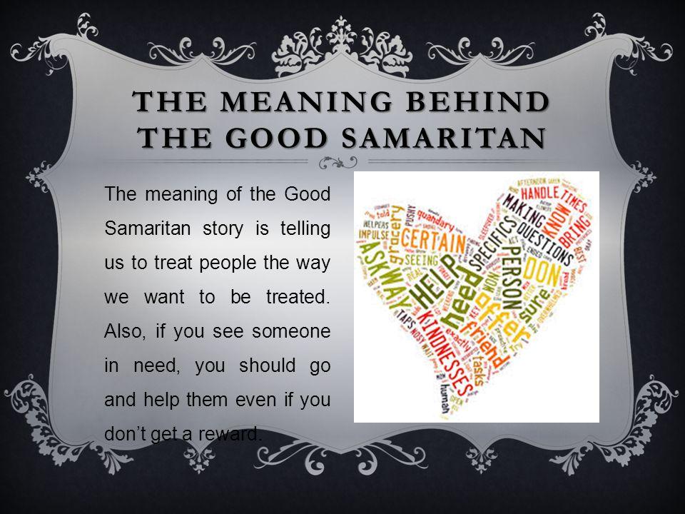 what does samaritan mean