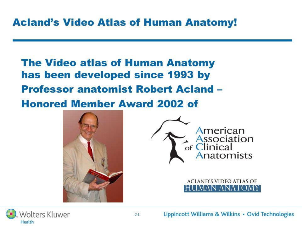 Atemberaubend Video Atlas Of Human Anatomy Galerie - Anatomie Ideen ...