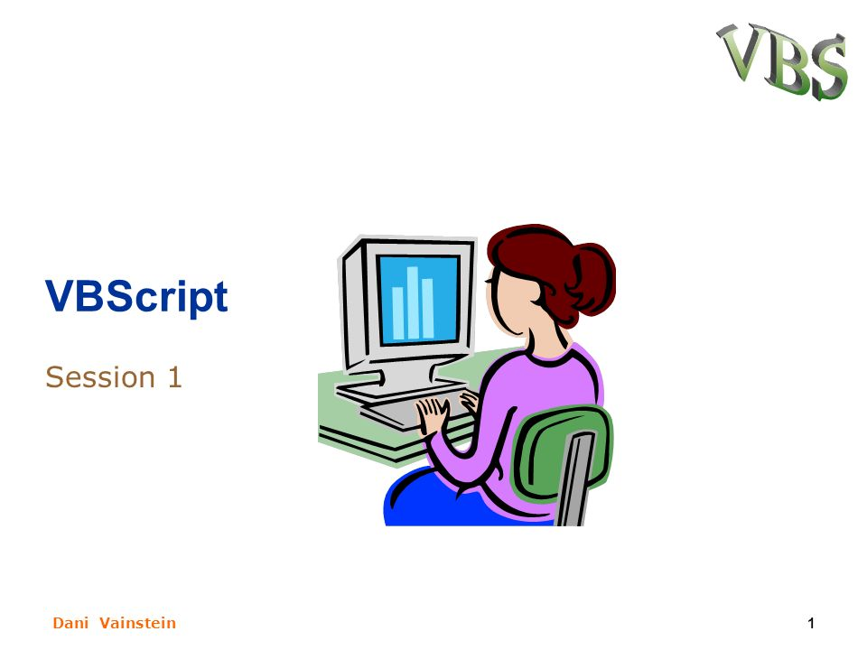 dani vainstein1 vbscript session 1 dani vainstein2 subjets for