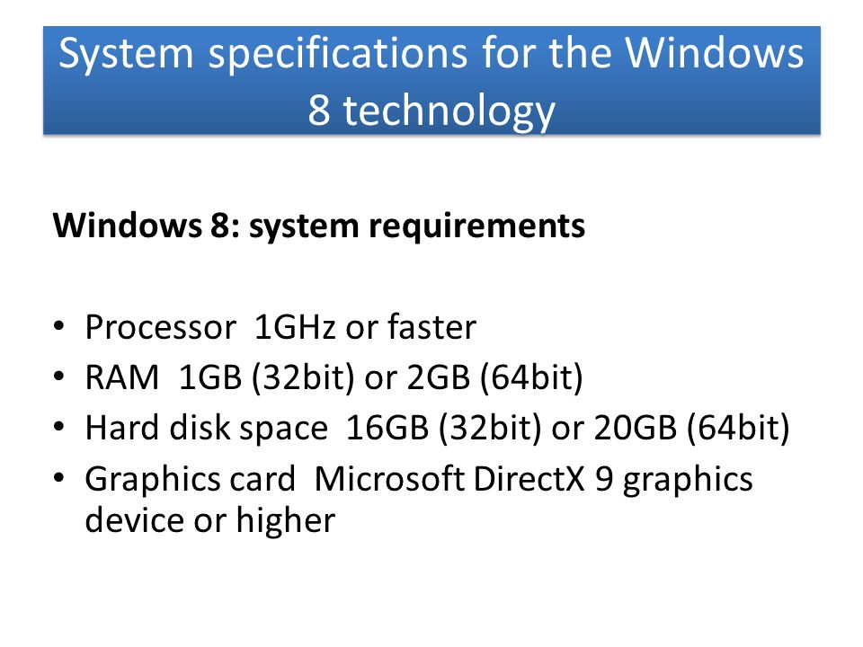 INTRODUCING WINDOWS 8 Windows 8 is the current release of