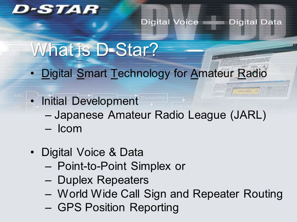 HXO D-Star Update W7AES Repeaters Mel Parrish with some content