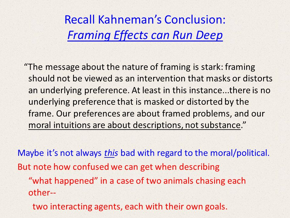 Awesome Kahneman Framing Ideas - Framed Art Ideas - roadofriches.com