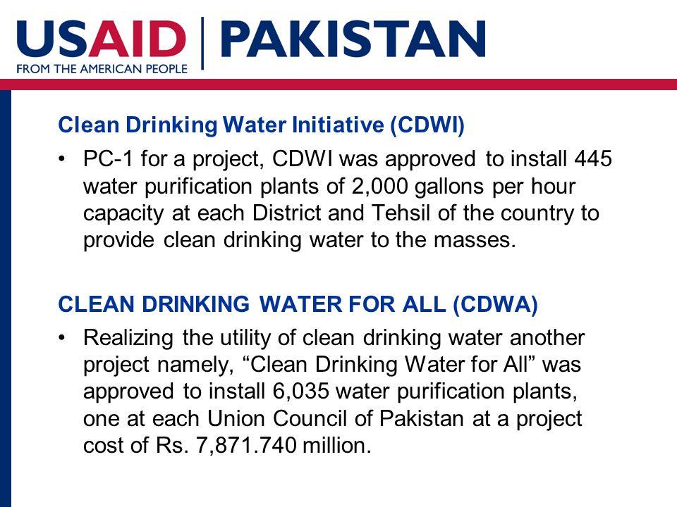 Behavior Change Communication (BCC) Strategy Pakistan Safe Drinking