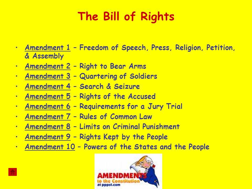 5 The Bill Of Rights Amendment