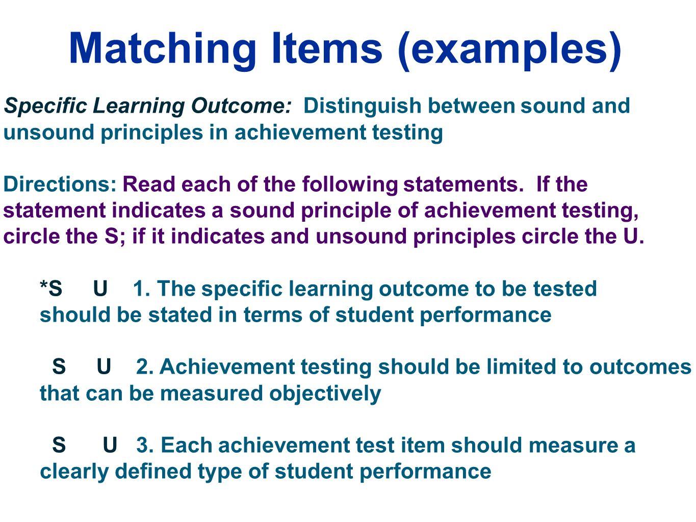 Edu 385 Classroom Assessment Session 6 Preparing And Using