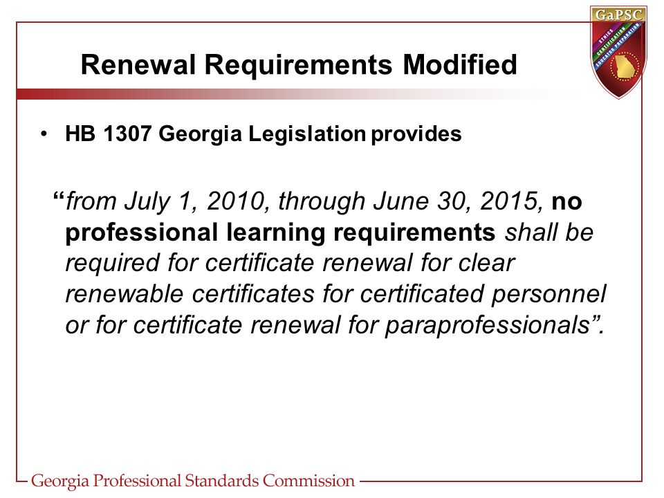 Certification Certification Updates Highlights Recent Certification