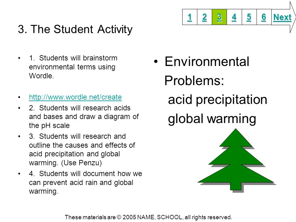 how to write a guiding question about the environment