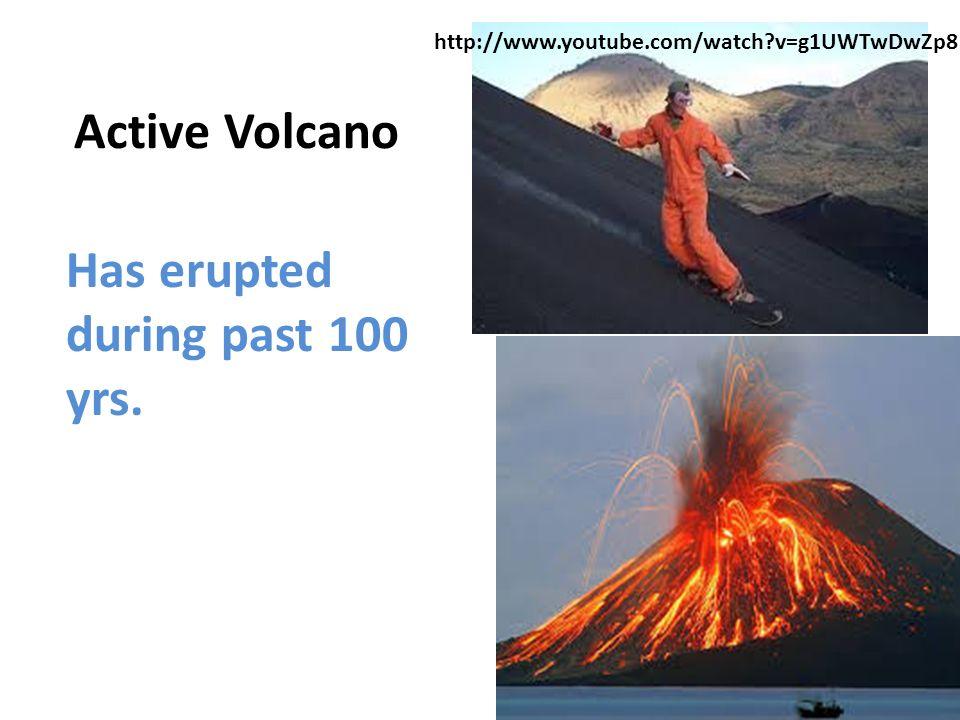 18.2 Notes: Volcano Anatomy Main Idea 1: Volcanoes look like ...