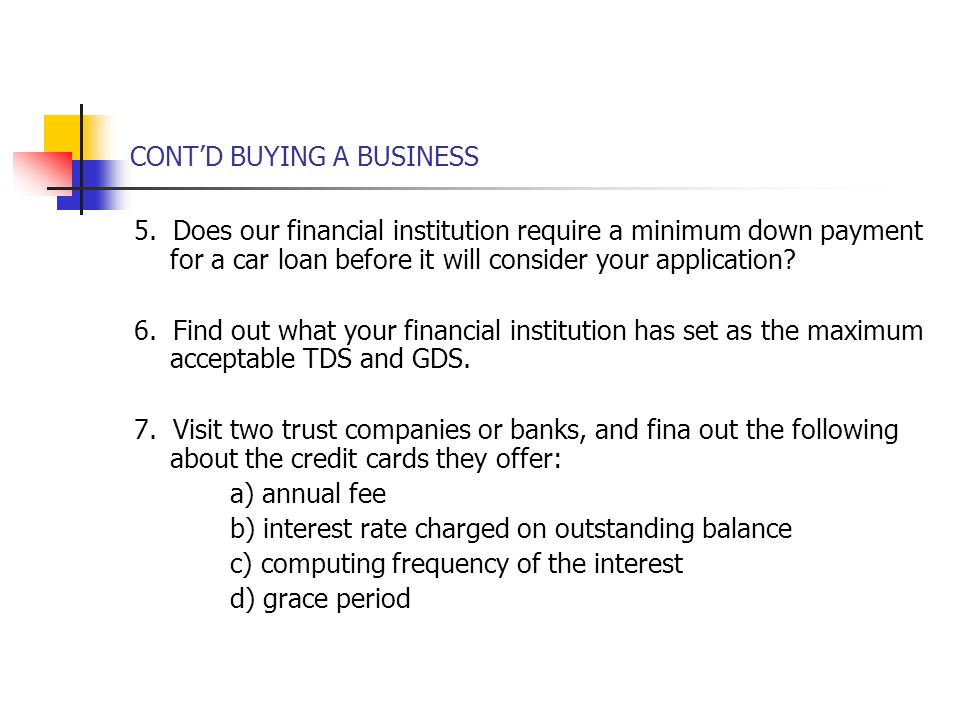 Organizing A Business The Business Plan Buying A Business