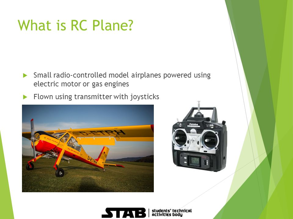BASICS OF RC PLANE  Overview  What is RC Plane?  RC Planes