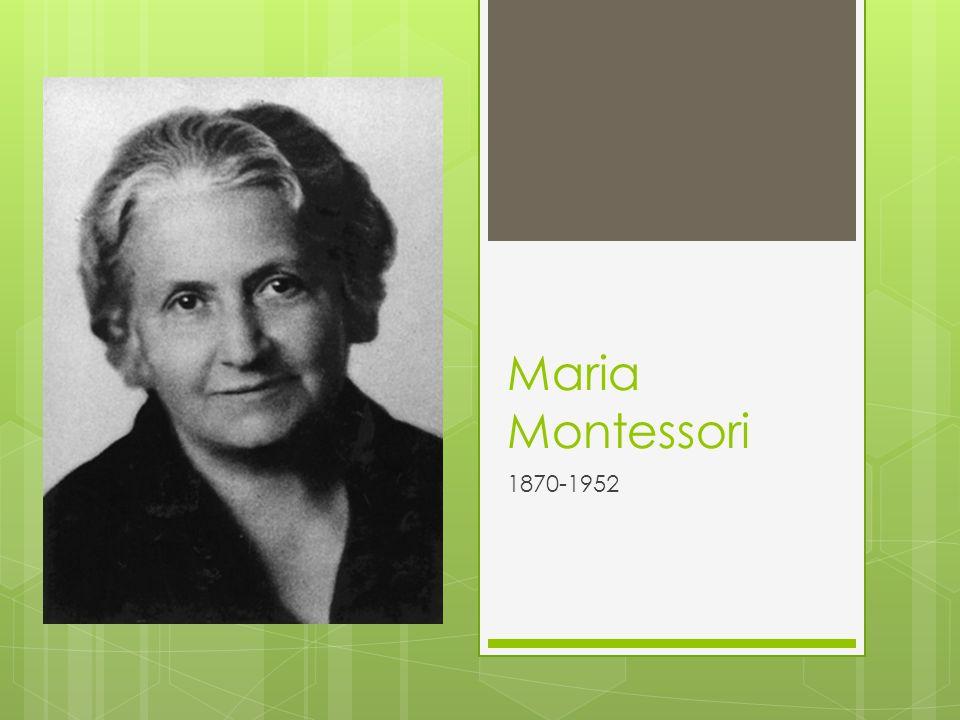 maria montessori family background