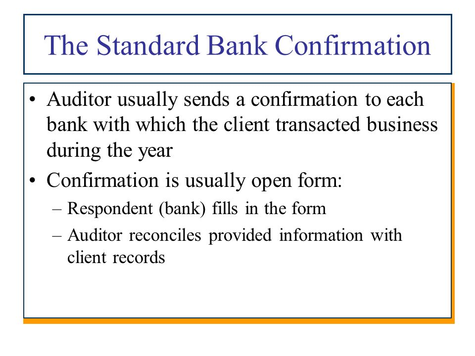 Chapter 12 Audit Of Cash And Other Liquid Assets Copyright 2010