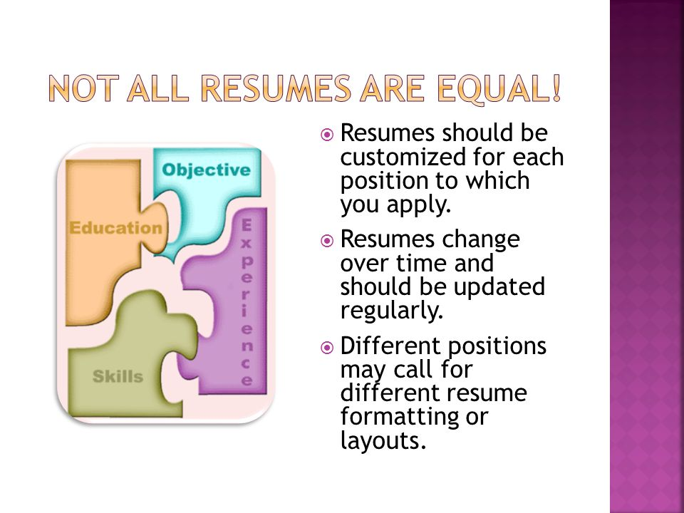 summary of personal information outlines your qualifications for