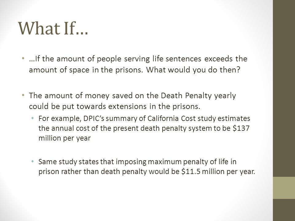 how much money does it cost for the death penalty