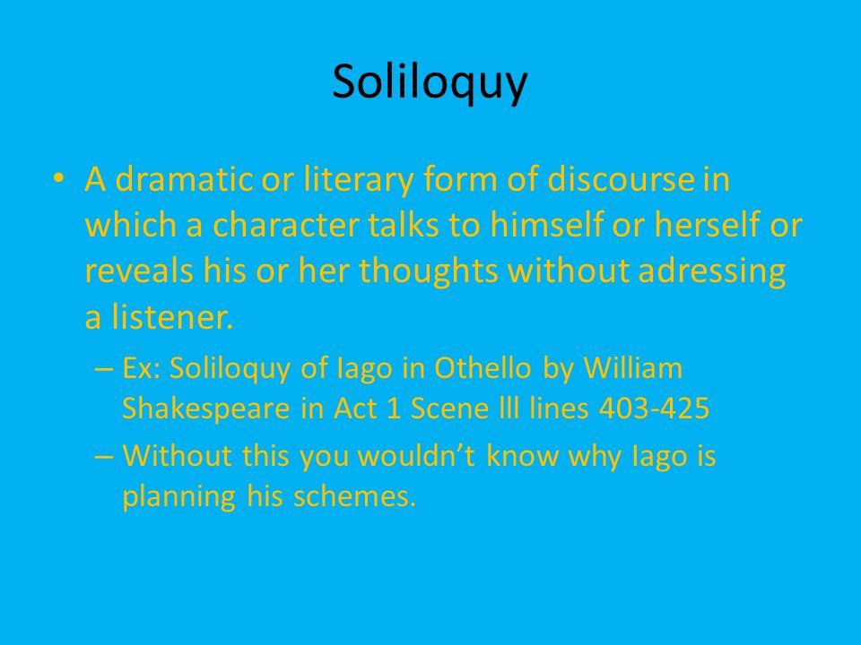 shakespeare soliloquy othello