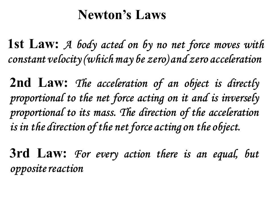 newton 2 law definition