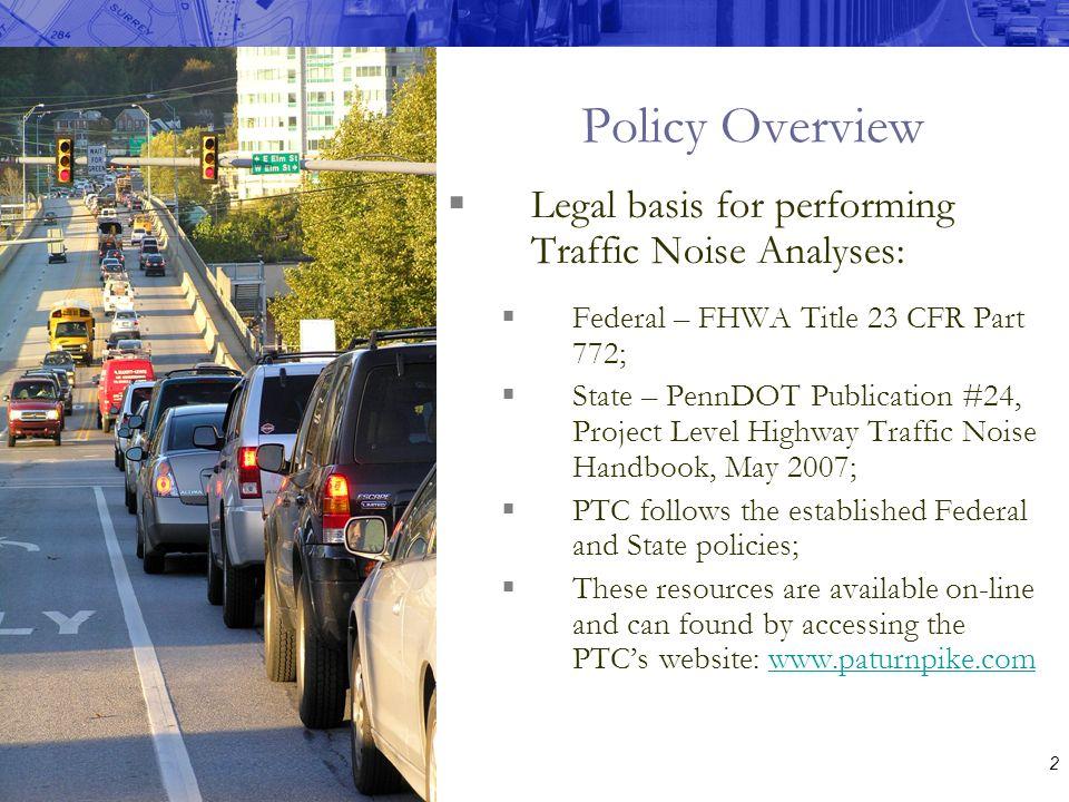 Traffic Noise Analysis Workshop October 17, ppt download