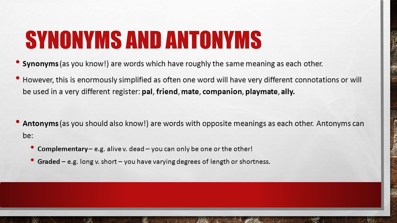 enormously other words