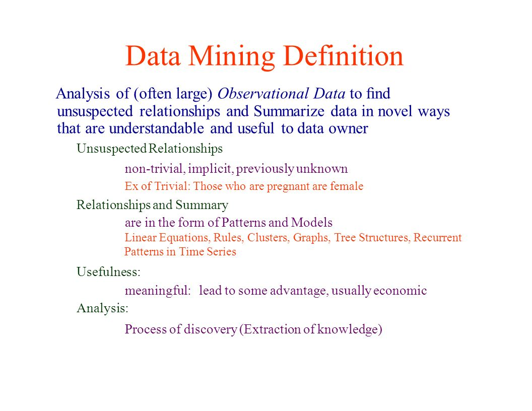 principles of data mining. introduction: topics 1. introduction to