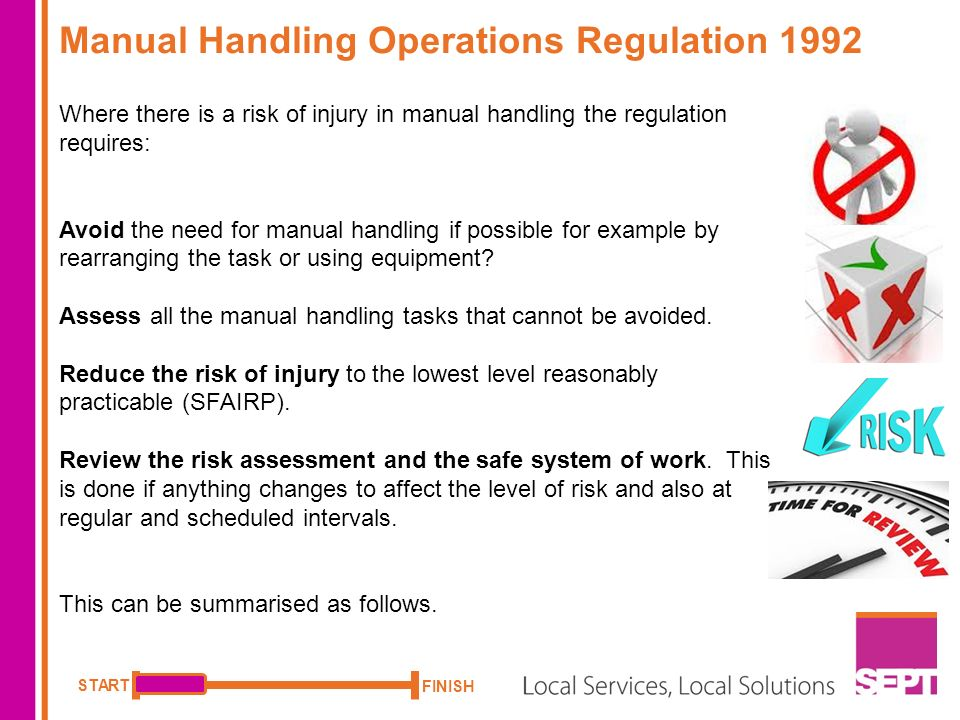 how to find your way around example course you can play the rh slideplayer com OSHA Manual Handling Manual Handling Risk Assessment