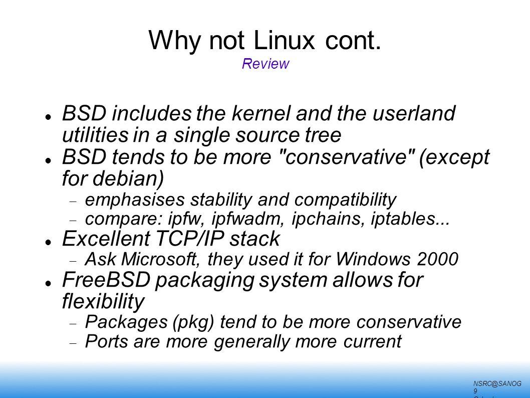 A Tour of UNIX SANOG 9 January 14, 2007 Colombo, Sri Lanka