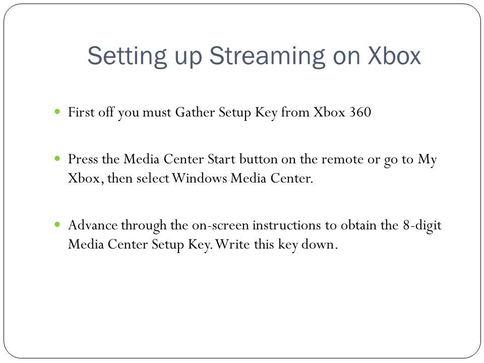 How To Stream Media To Microsofts Xbox 360 Presented By Gary Rankin