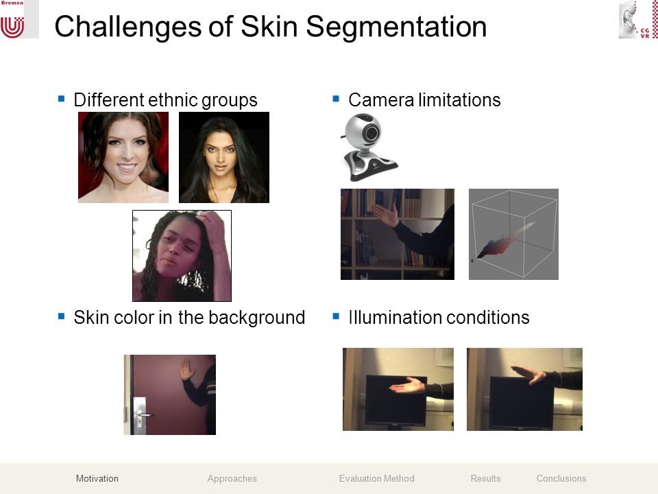 A Comparative Evaluation of Three Skin Color Detection