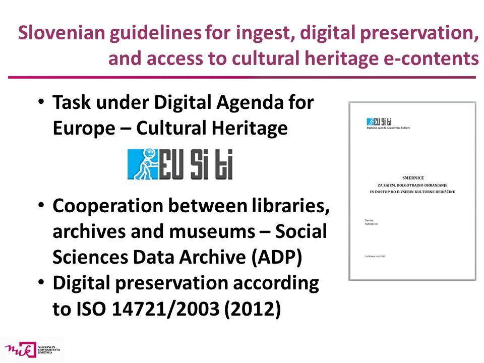 Digital Preservation Of Research Data Alenka Kavi Oli Rd Unit