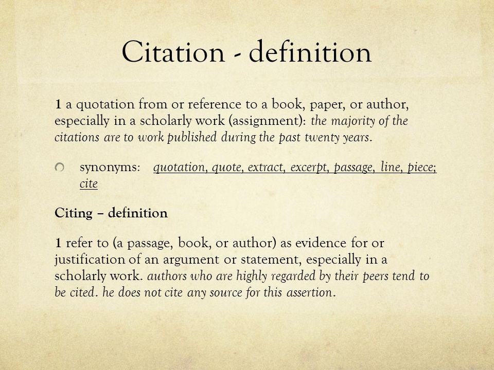 Citations Understanding How And When To Reference Citing In Text