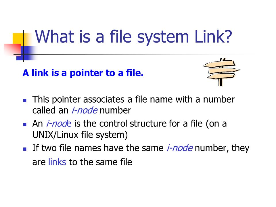 Bif703 Hard Symbolic Links What Is A File System Link A Link Is
