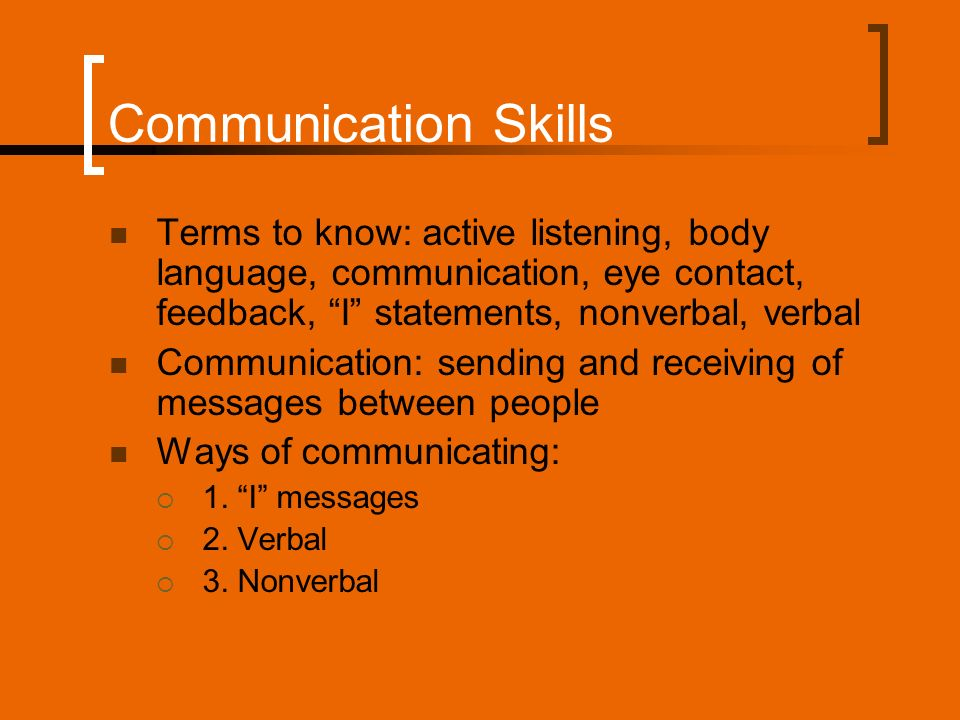 chapter 9 verbal communication presentations Powerpoint presentation: verbal and non- verbal communication and its importance in interpersonal communication dr bp singh senior scientist division of extension education indian veterinary research institute para language : under the paralinguistic part of this chapter.