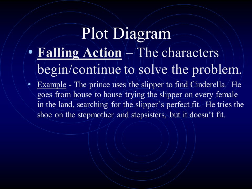 Plot Diagram Climax – The turning point of the story when the problem/conflict is at its worst; The characters find a way to solve the problem.