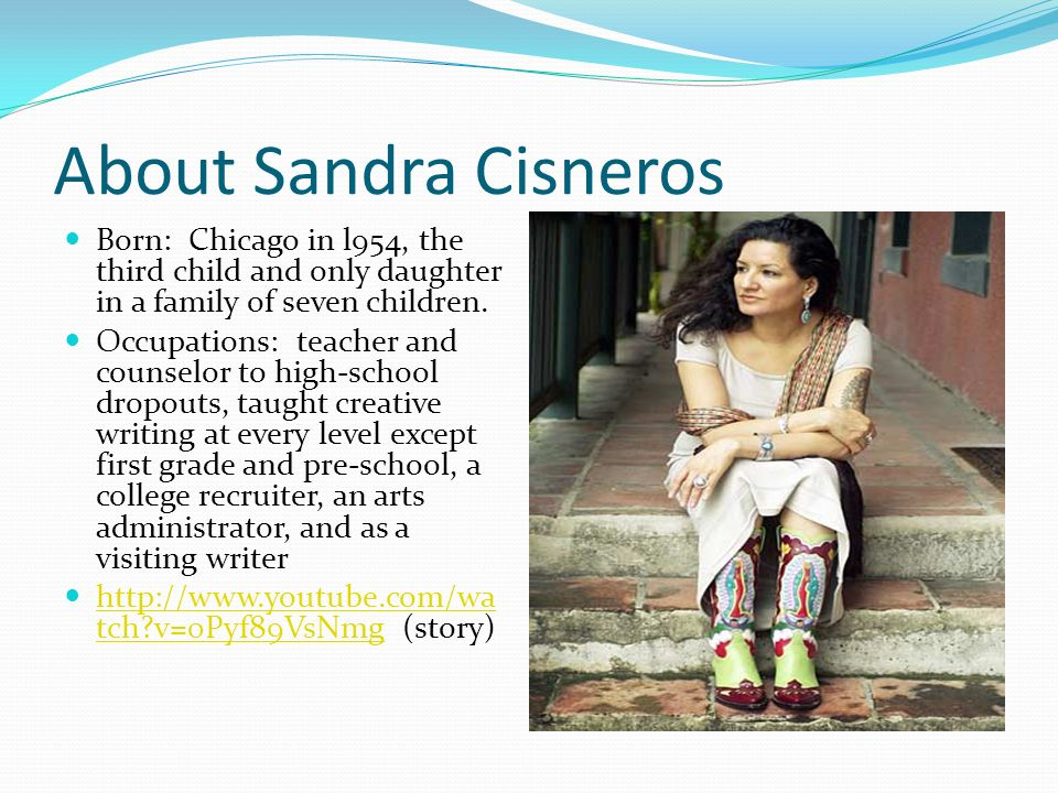 the only daughter by sandra cisneros