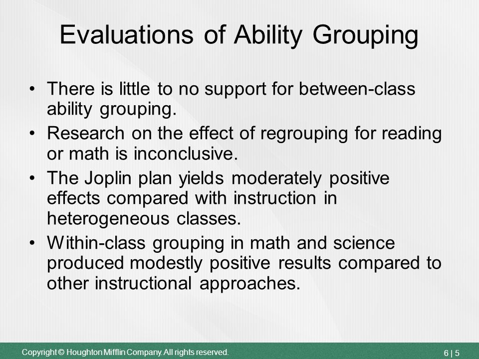 between class ability grouping